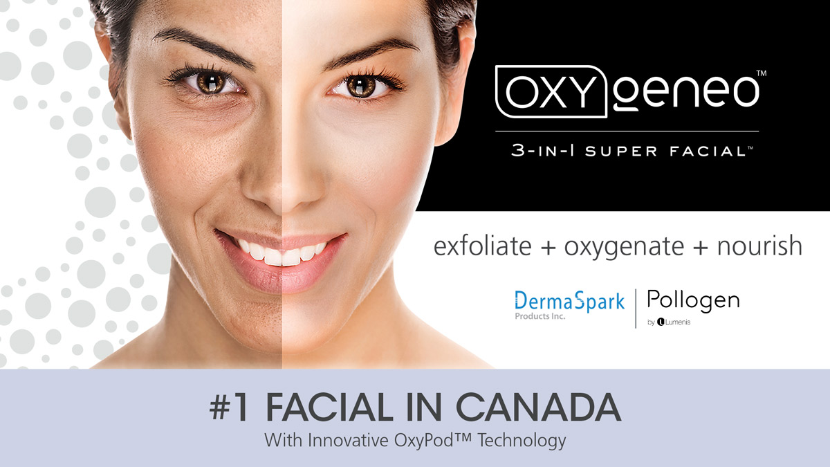 #1 Facial in Canada - oxygeneo